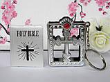 Аксессуары для кукол - мини библия серебряная, фото 3