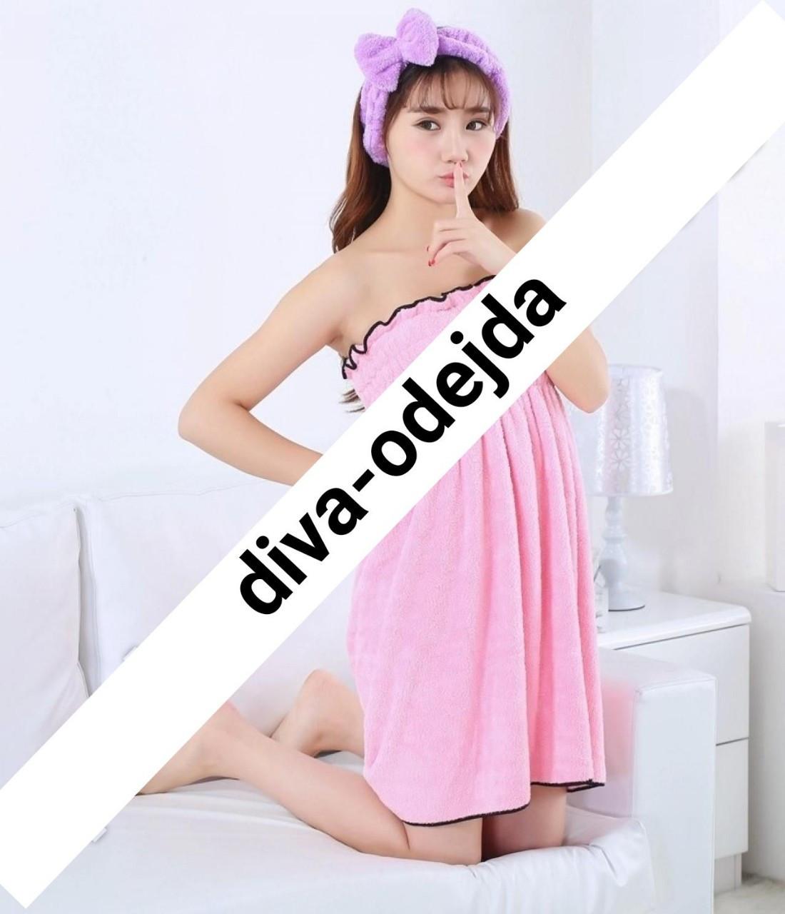 Банное полотенце-сарафан.