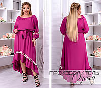 Красивое платье Батал Алина, фото 1