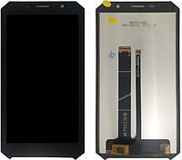 Дисплейный модуль Doogee S60 lite черный (тачскрин+дисплей)