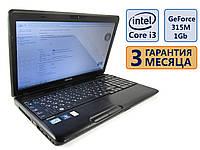 Ноутбук Toshiba C660 15.6 (1366x768) / Intel Core i3-2310M (2x2.1GHz) / RAM 4Gb / GeForce 315M, 1Gb/ HDD 320Gb / АКБ 45 мин. / Сост. 9/10 БУ