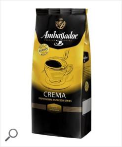 Кофе Ambassador Crema / Амбассадор Крема ( 1000 г) зерновой