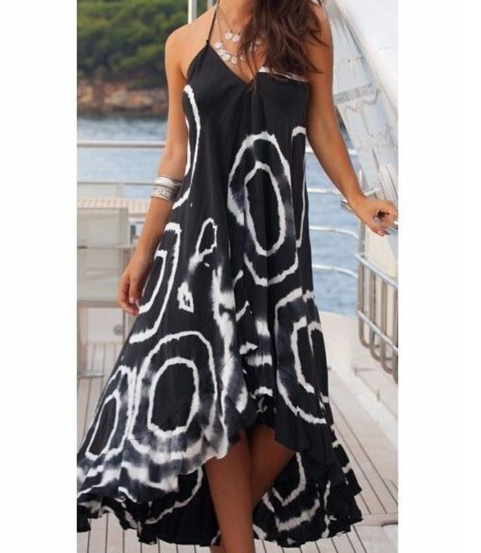 Женское пляжное платье-сарафан Д-061
