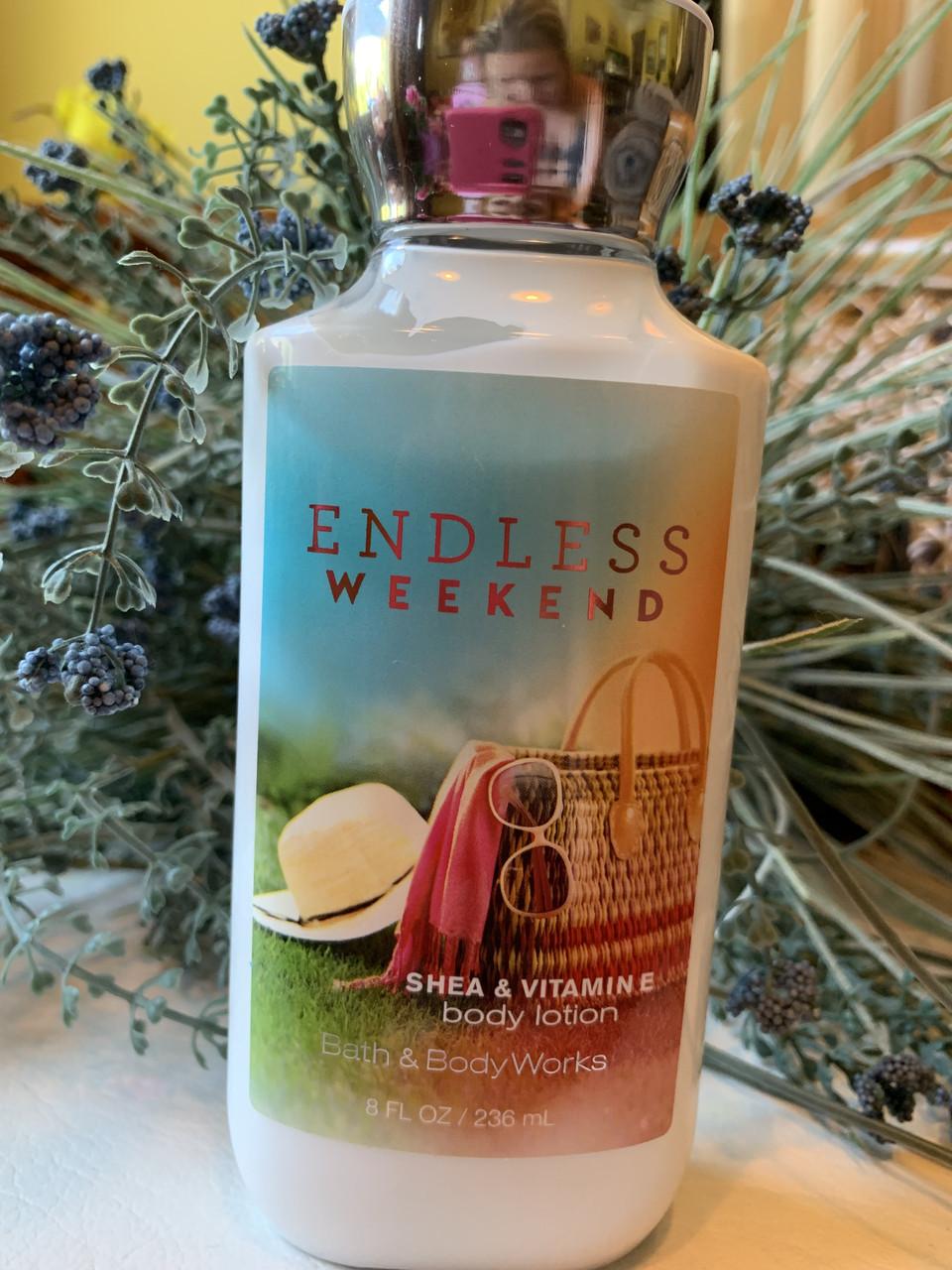 """Лосьон для тела Bath and Body Works """"Бесконечные выходные"""""""