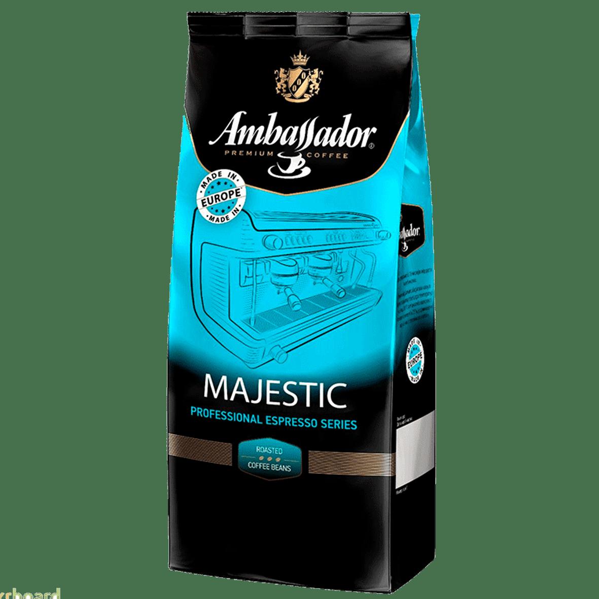 КофеAmbassador Majestic(1000 г) в зернах
