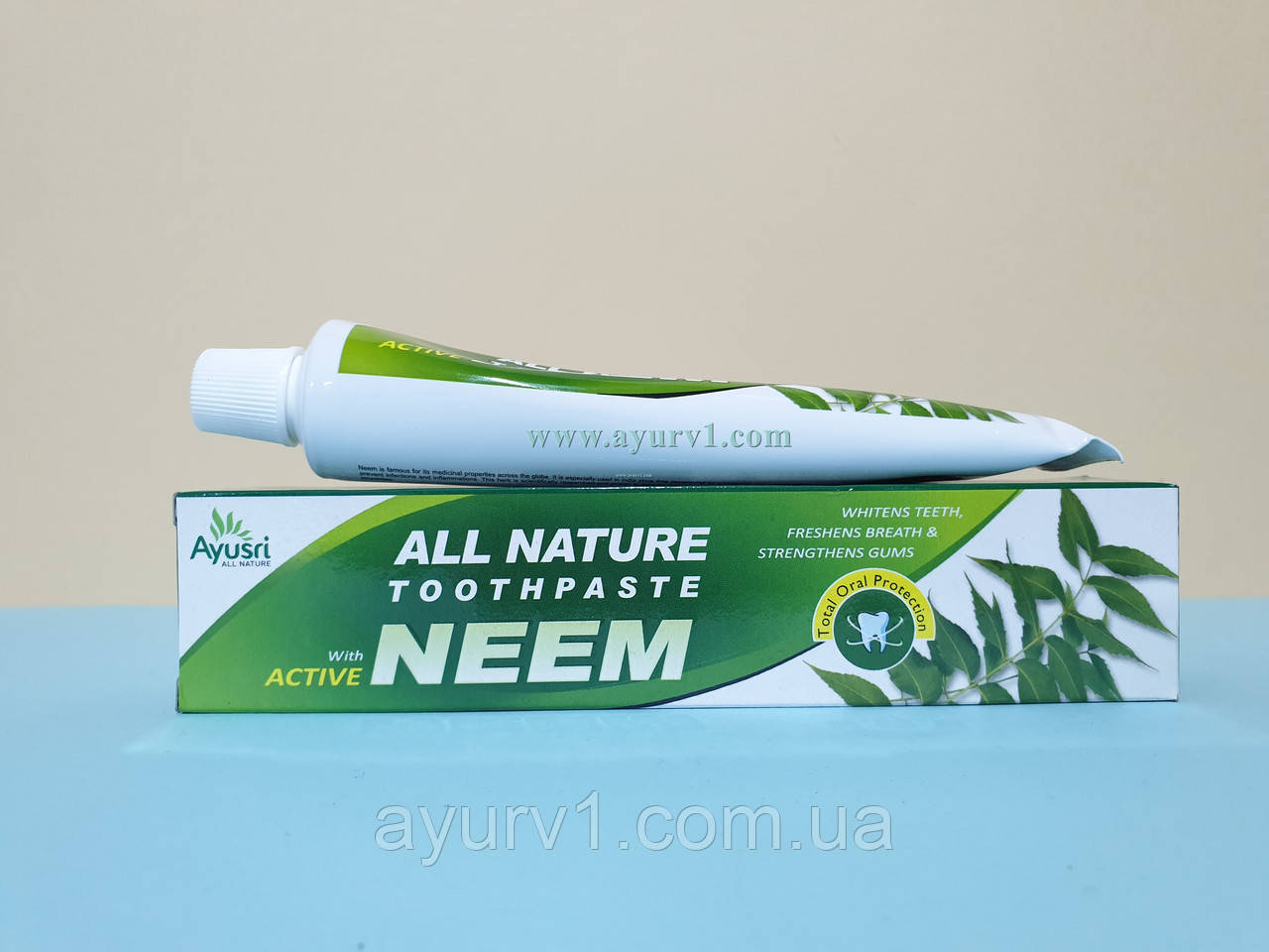 Аюрведическая зубная паста Ним/ Neem / Ayusri / 100 г.