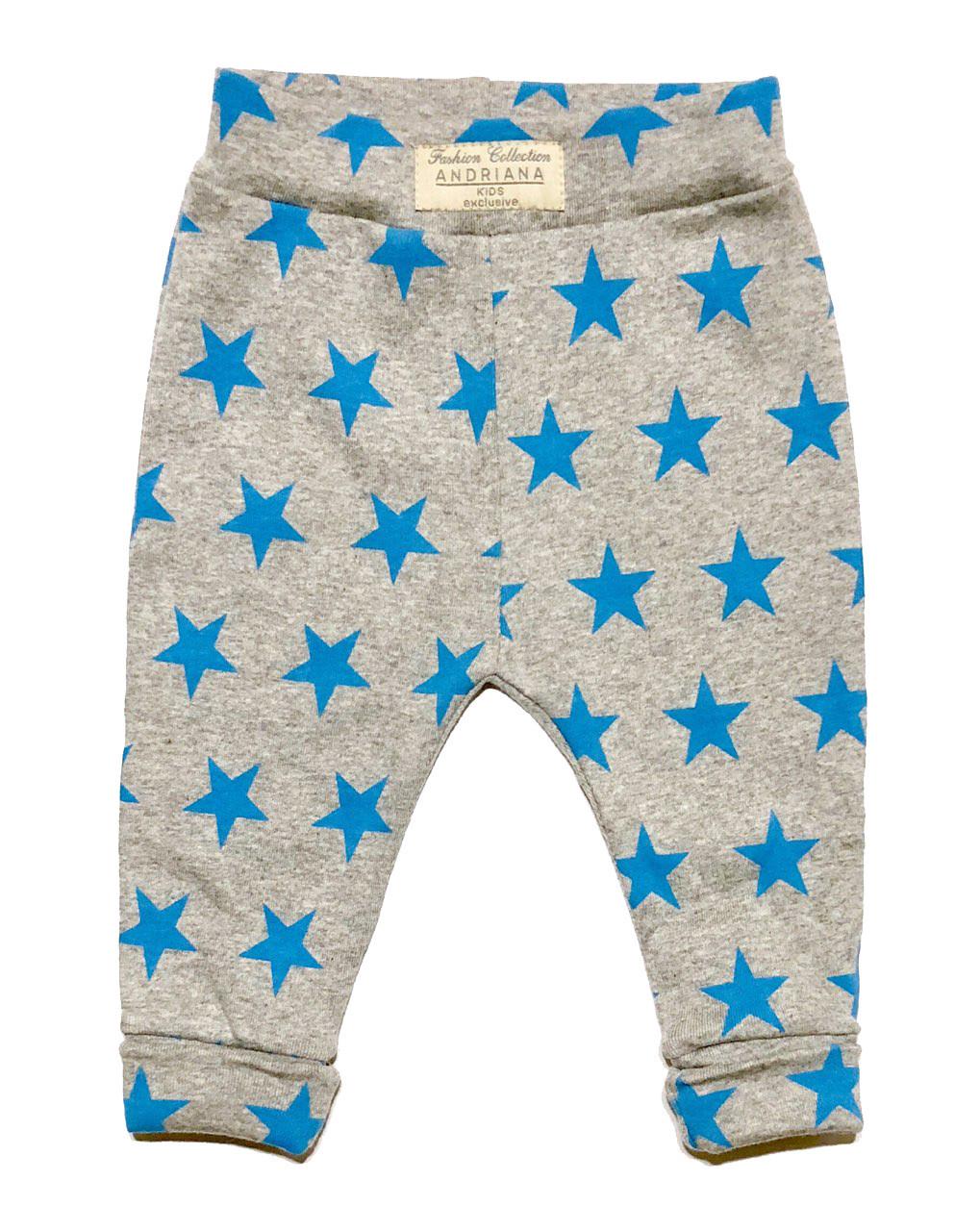 Штанишки Andriana Kids голубые звезды 98 р.