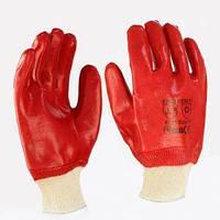 Перчатки масло-бензо-стойкие Красные