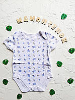 Боди-футболка белая с принтом Primark для малыша 3-6 месяцев