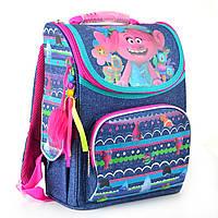 Рюкзак шкільний каркасний 1 Вересня H-11 Trolls, 34*26*14 см (553405), фото 1