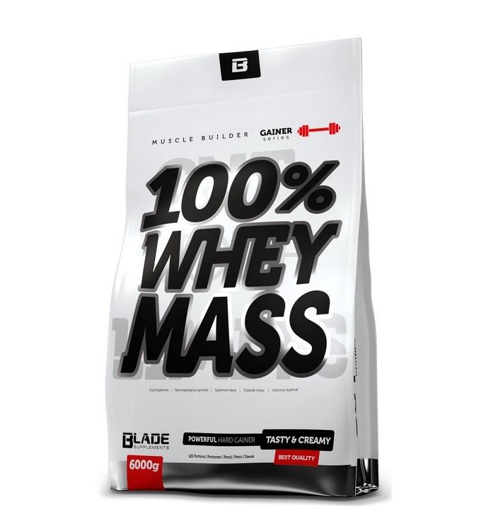 Протеин  Hi Tec Nutrition BLADE SERIES 100% Whey Mass 6000g