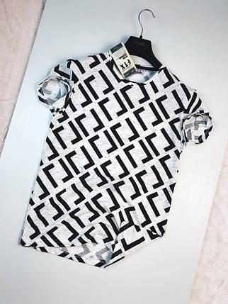 Стильная молодёжная  футболка  FTX S, M, L, XL, XXL расцветки в ассортименте, фото 2
