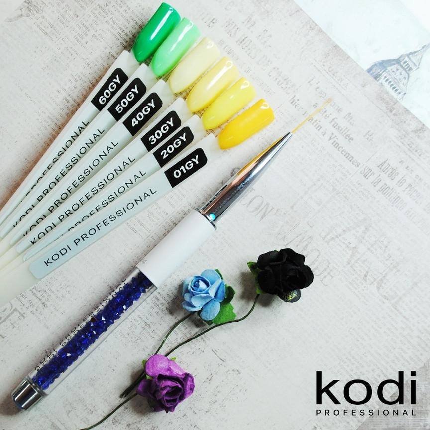 Гель лак Kodi Professional GREEN&YELLOW
