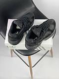 Мужские кроссовки Adidas Yung 1 total black (Адидас Янг 1 черные), фото 2