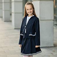 """Школьный костюм двойка  для девочки """"Стелла-2"""" , фото 1"""