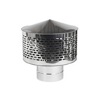 Іскрогасник із нержавіючоЇ сталі Versia-Lux ф 160 мм товщина 0,6 мм