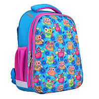 Рюкзак школьный каркасный 1 Вересня H-12-1 Owl, 38*29*15 см (554476)