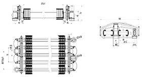 Теплообменник битермический Nova Florida Vela Compact (6SCAMBIM04) / Saunier Duval Tematek (S20025297), фото 3