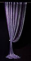 Шторы-нити Фиолетовое с люрексом 285 грн.