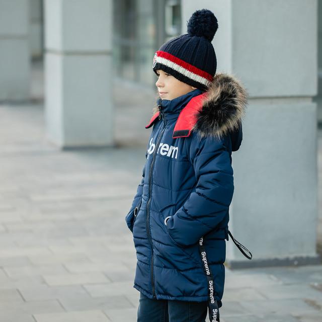 Куртки зимние детские для мальчика