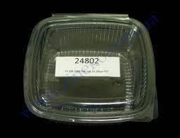 Ємність FT 208-1000 з кришкою 17,5*16,5*17 см 1000 мл 100 шт