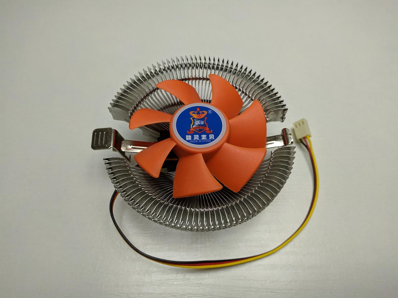Кулер процесорний CPU Cooling Baby Q8 (775/1156/1155/1150/1151/ FM1/FM2/AM2/AM3/AM4)