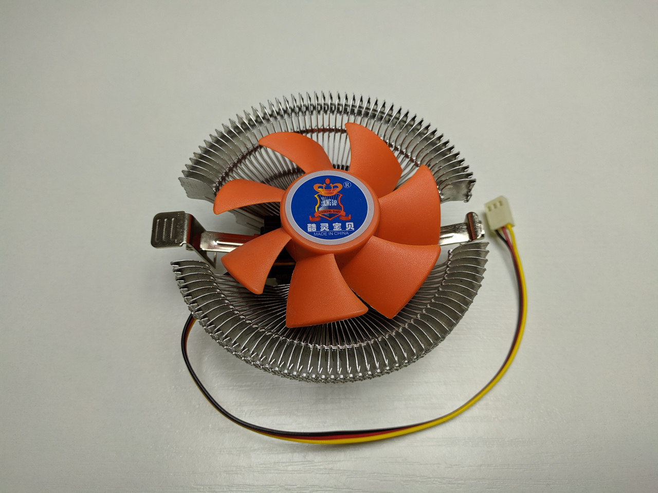 Кулер процессорный CPU Cooling Baby Q8 (775/1156/1155/1150/1151/ FM1/FM2/AM2/AM3/AM4)