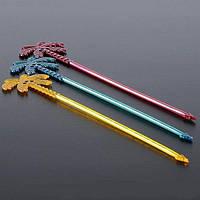 Мешалка пальма-стрела 24 см цветная 100 шт