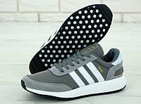 Мужские кроссовки Adidas Iniki (grey)