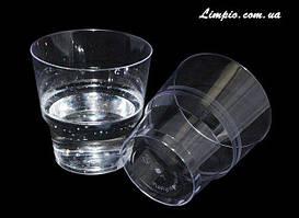 Стакан стекло подобный 200 мл 25 шт прозрачный (метка-200)