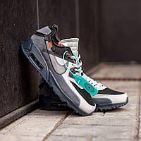 Мужские кроссовки Nike Air Max 90 x Off White(Найк Аир Макс 90)