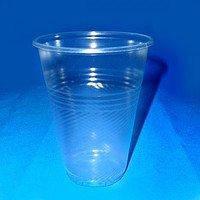 Стакан-АС эконом Пивной прозрачный, 0,5л, 3,7 плотность, 50шт в рукаве