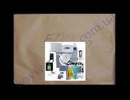 Упаковка бумаги пергаментной, белой 60*40см, 500шт силиконовая, для выпечки