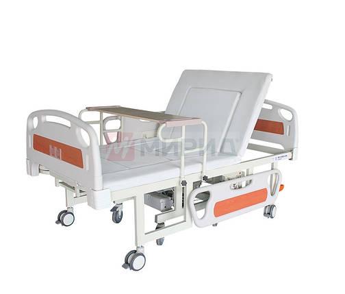 Медицинская кровать электро W01. Функция мобильного кресла, санитарное устройство. Кровать для инвалидов., фото 2