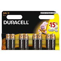 DURACELL Basic AA батарейки алк. 1.5V LR6 8шт Бельгия