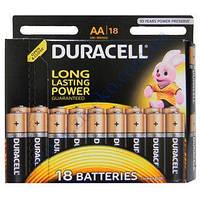 DURACELL Basic AA батарейки алкалиновые 1.5V LR6 18шт Бельгия