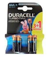 DURACELL TurboMax AA батарейки алкалиновые 1.5V LR6 3шт+1 б/к Бельгия