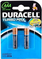 DURACELL TurboMax AAA батарейки алкалиновые 1.5V LR03 2шт Бельги