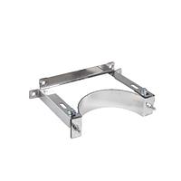 Хомут стінний з регулюванням від 0 до 100мм із нержавіючоЇ сталі Versia-Lux ф 160 мм