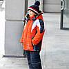 "Детский зимний комбинезон для мальчика ""Сипорт"",Новинка"