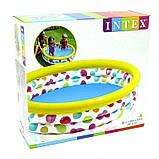 Детский надувной бассейн Геометрия Intex 58439, надувной бассейн для детей 147*33см, фото 2