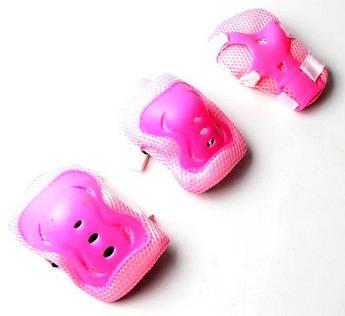 Защитная экипировка для катания Sport Series Розовая