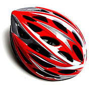Велосипедный шлем с регулировкой размера Красный