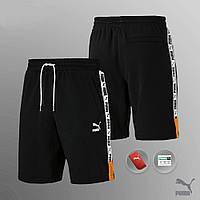 Мужские спортивные Шорты черные Puma XTG Shorts 8 AAA+