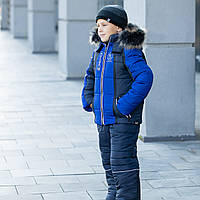 "Зимний комплект (куртка+полукомбинезон) на мальчика ""Богнер"" зима 2020"