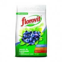 Удобрение минеральное гранулированное Флоровит для Голубики и Черники 3 кг Florovit