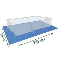 Подстилка для бассейна IntexPool 55019, 732 х 366 см, прямоугольная
