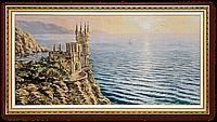 "Картина-гобелен ""Ласточкино гнездо"" 100х50 см"