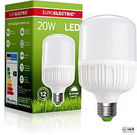 Светодиодная лампа Euroelectric HP E27-20W-4000K (LED-HP-20274(P))