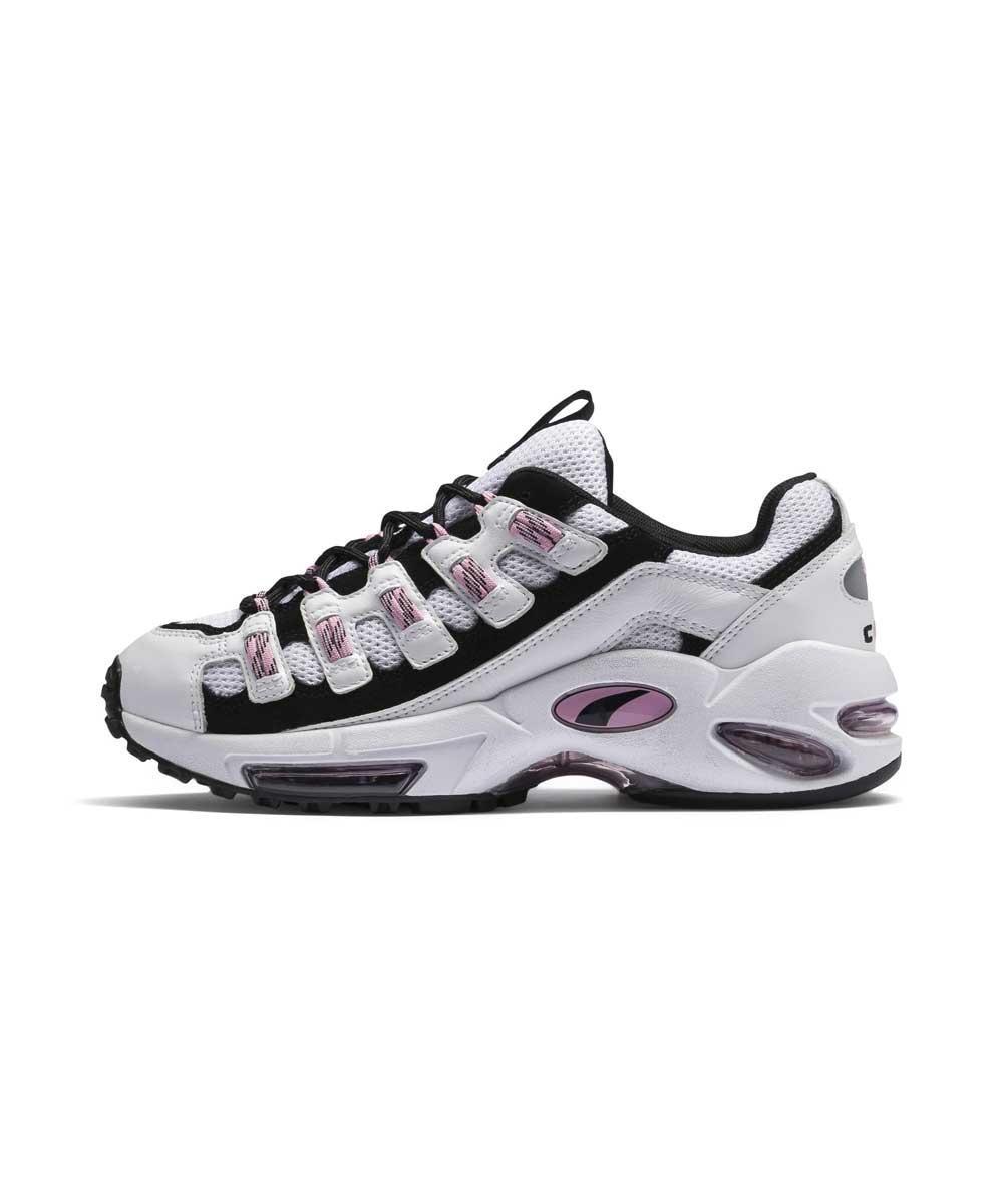 Белые спортивные женские кроссовки PUMA WMNS CELL ENDURA